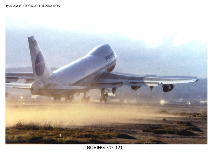Pan Am Boeing 747 takeoff