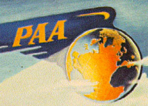 pan am 1944 annual report cover detail