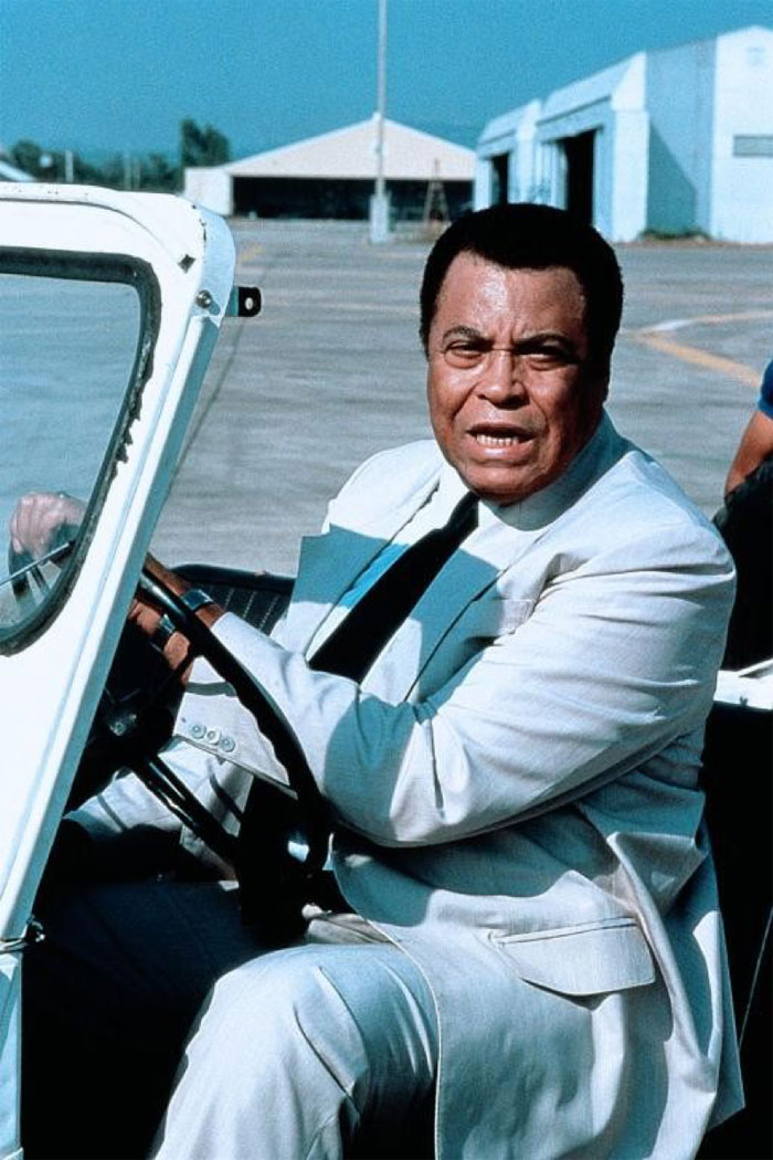 "James Earl Jones plays Al Topping in the movie ""Last Flight Out"""