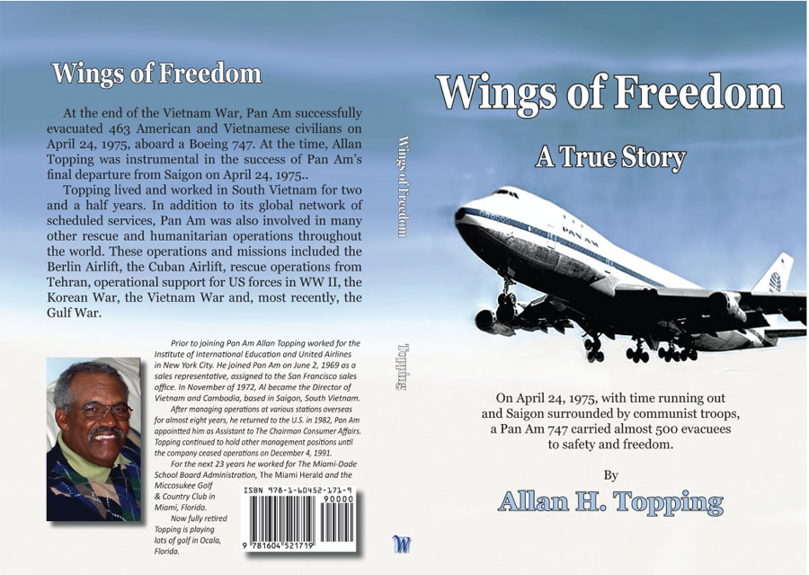 "New Book: Al Topping's ""Wings of Freedom"" published 2021"