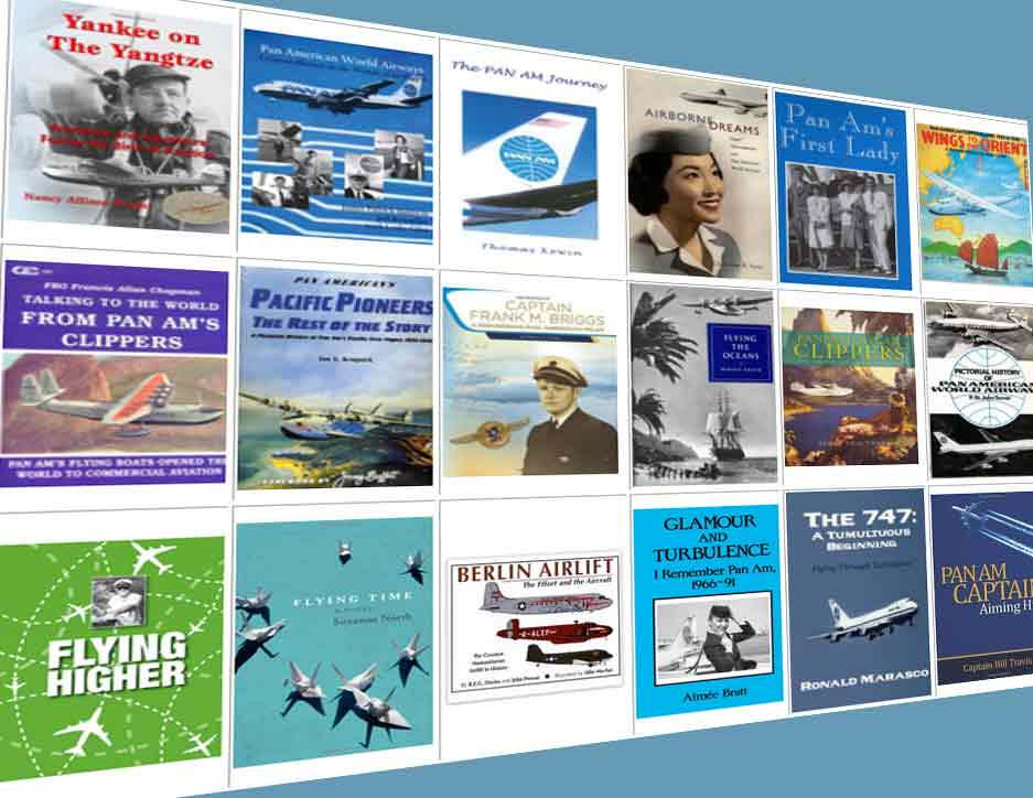 Pan Am Reference / Classic books / Biographies & Memoirs / Fiction/ Non-Fiction / Pictorial / Related