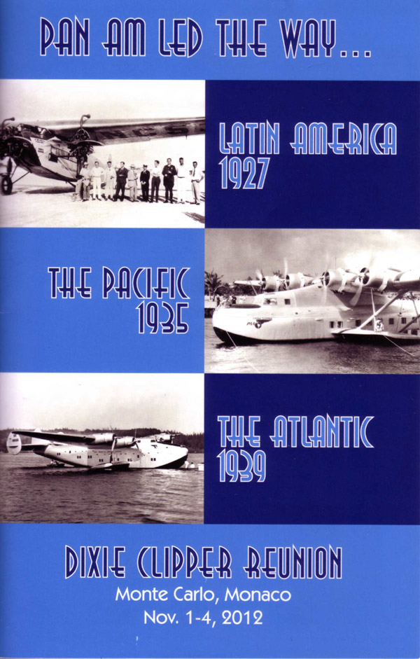 Pan Am Dixie Clipper Reunion Booklet cover