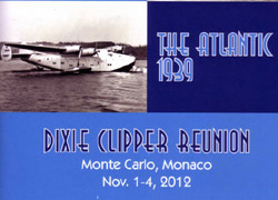 Pan Am Dixie Clipper Reunion Booklet, 2012