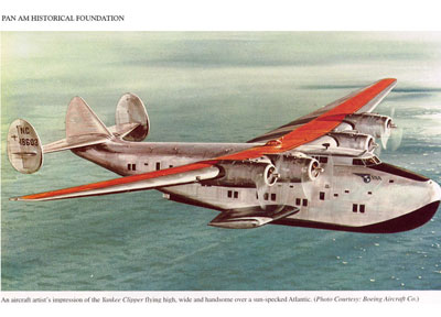 Pan Am Yankee Clipper B 314 blog
