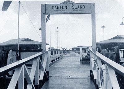 Canton Island Dock blog
