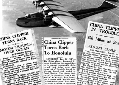 China Clipper Turns Back Blog