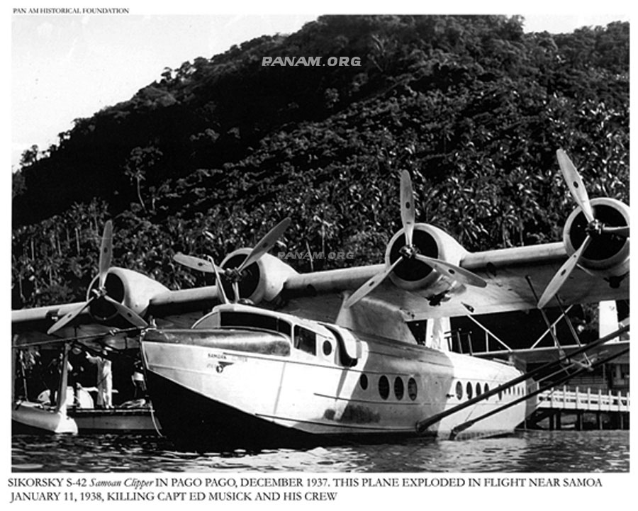 2 Samoan Clipper at Pago Pago Pan Am Historical Foundation Collection