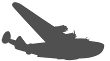 Pan Am Boeing 314 in silhouette