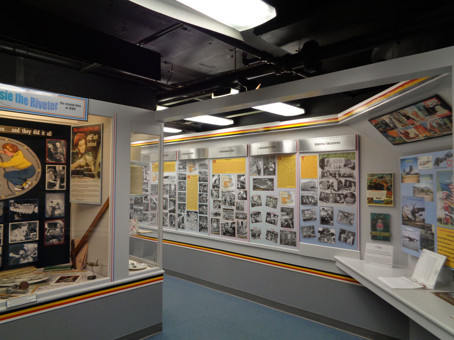 Martin Museum exhibit wall