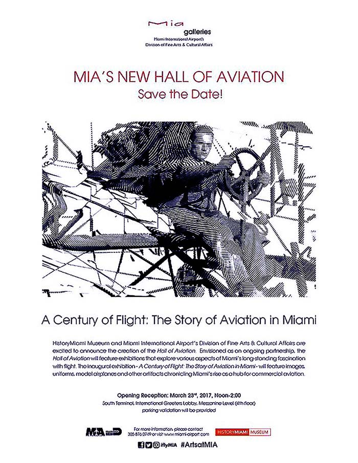 MIAs New Hall of Aviation Reception March 23 2017 Noon 2PM rsz