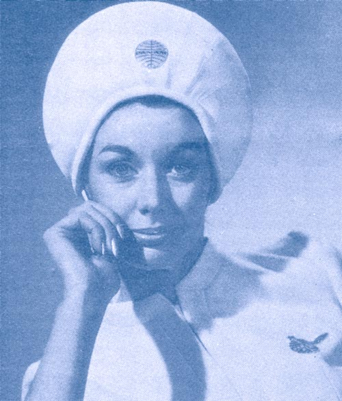 1 Pan Am Stewardess closeup