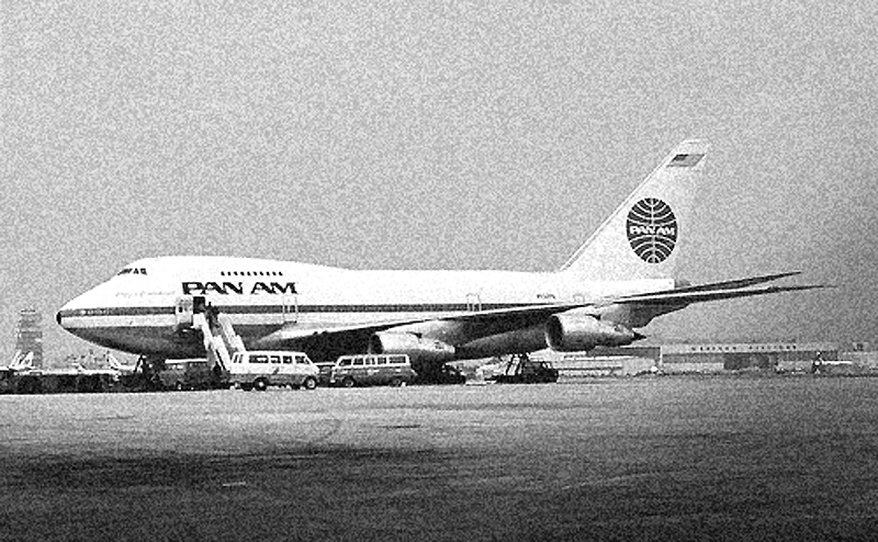 Benefield Tehran Pan Am Buses BW