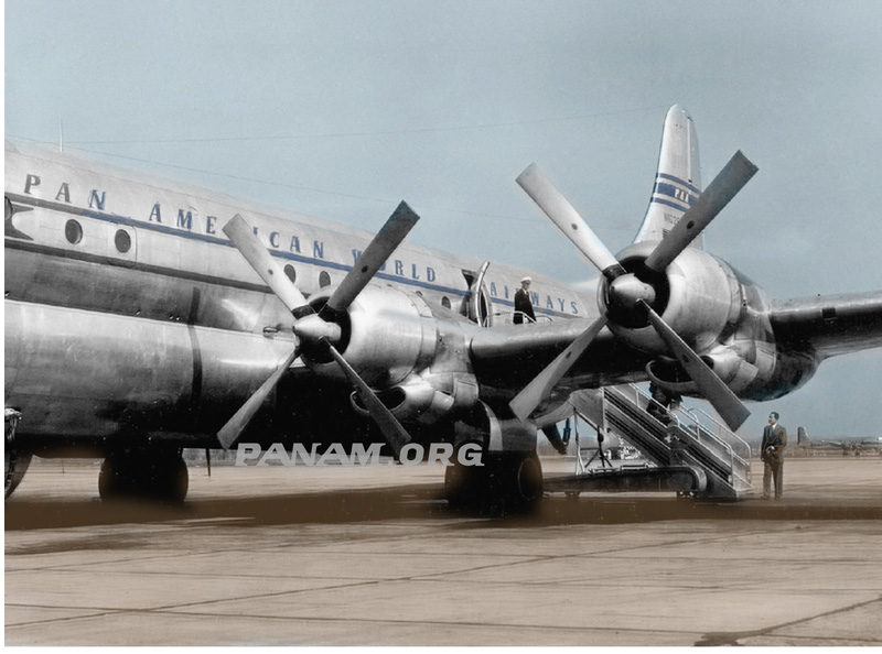 7 Pan Am Stratocruiser