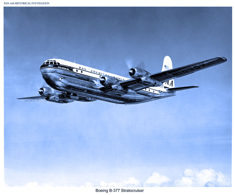 2. Pan Am Boeing 377 Stratocruiser