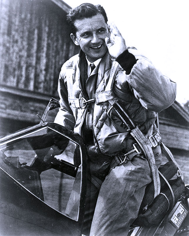 4. Capt. Charles F. BLAIR Jr. Brigadier General USAFR in Mustang