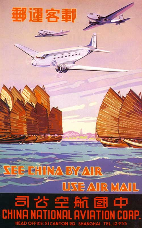 China National Aviation Corporation poster