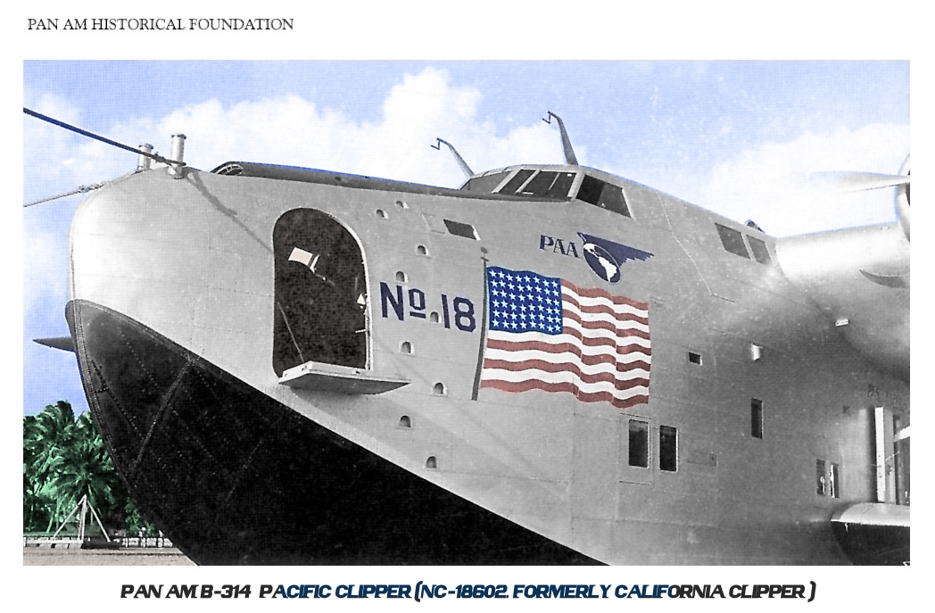 1. Pan Am Pacific Clipper