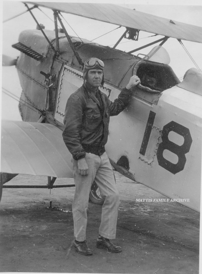 John Mattis as Naval Aviation Cadet Pensacola FL1929