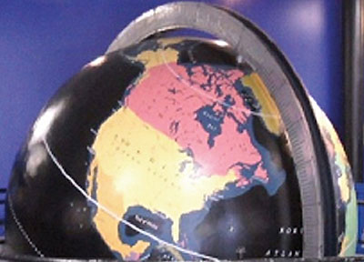 Pan Am Globe Restored