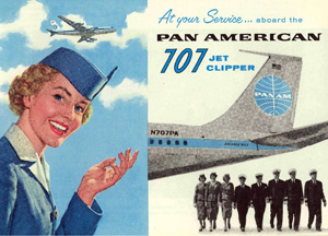 Pan Am Jet Clipper brochure 1958