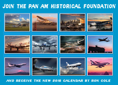 Join Pan Am Historical Foundation 2016 Calendar News