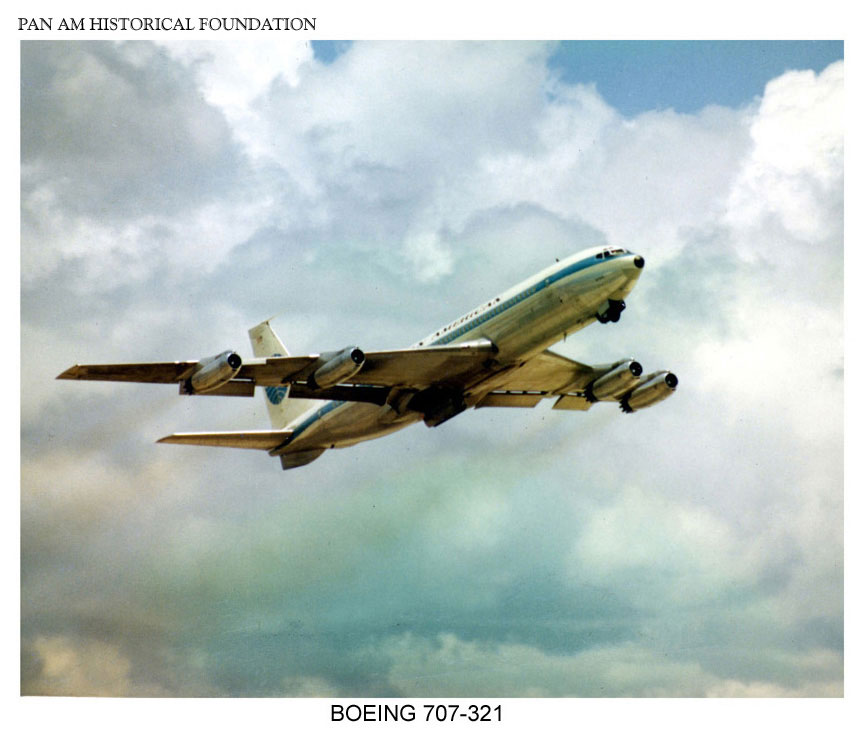 Pan Am Boeing 707 321 1960s
