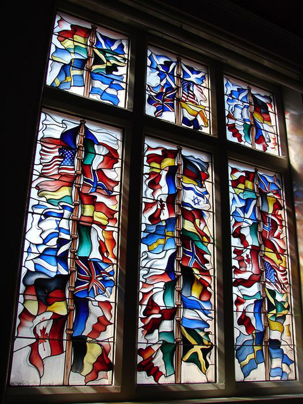 A. Pan Am 1988 Memorial Window geograph.org.uk 832083