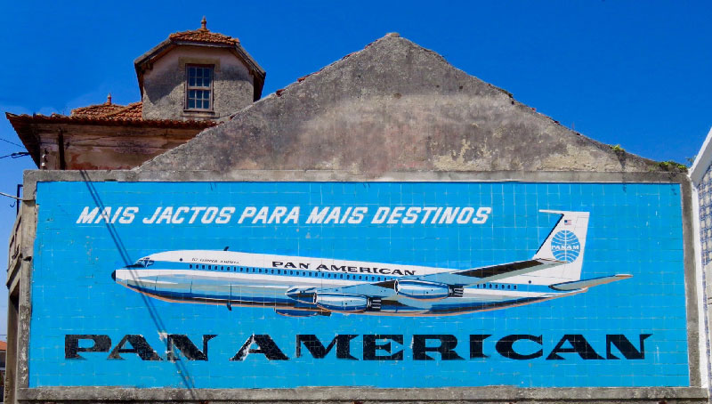 Pan Am building tile billboard