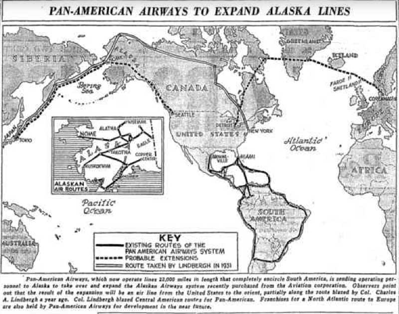 Pan American Airways To Expand Alaska