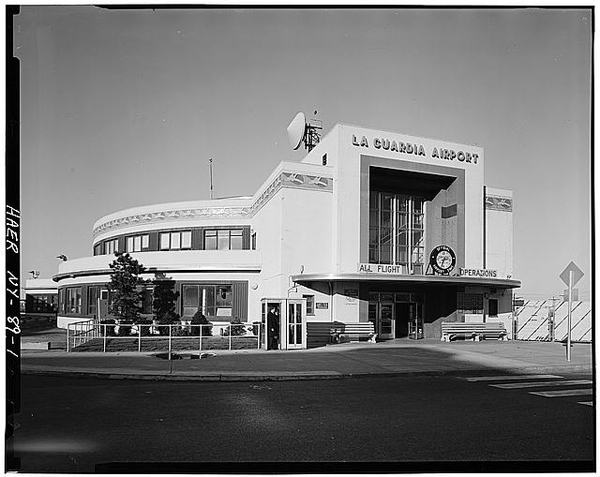 Marine Air Terminal, MAT, LaGuardia, Historic Buildings Survey photo