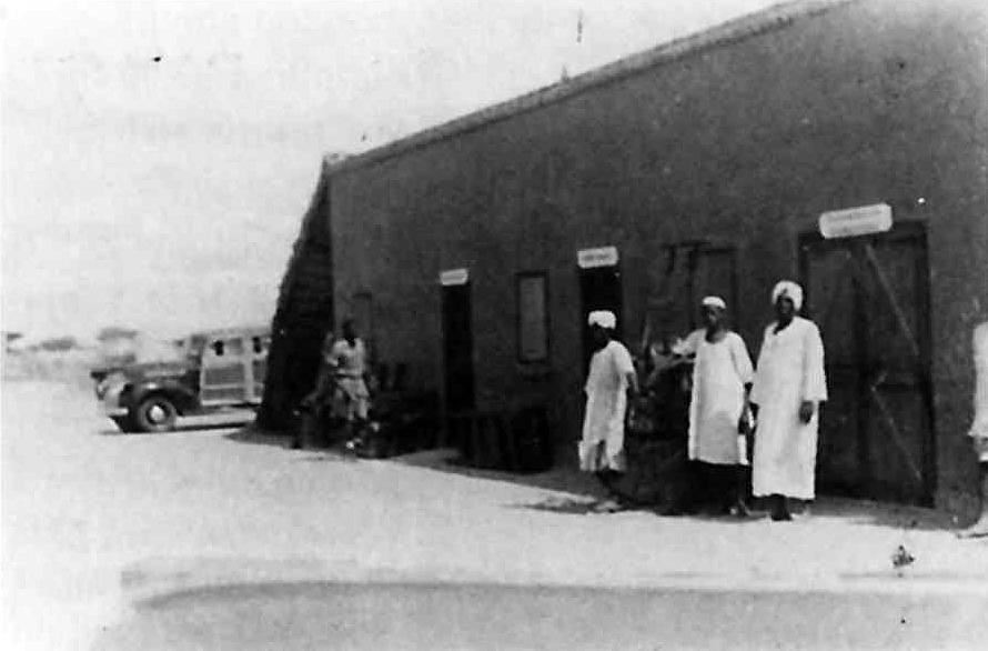 Pan Am Africa El Fasher operations building, Darfur, World War Two