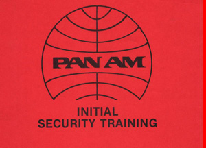 Pan Am Initial Security Training Manual excerpt 1985