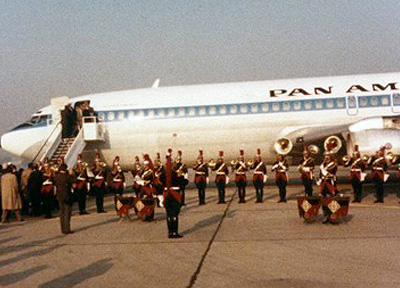 Pan Am First Jet to Paris, 1958