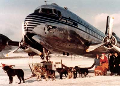 Pan Am in Fairbanks Alaska 1946