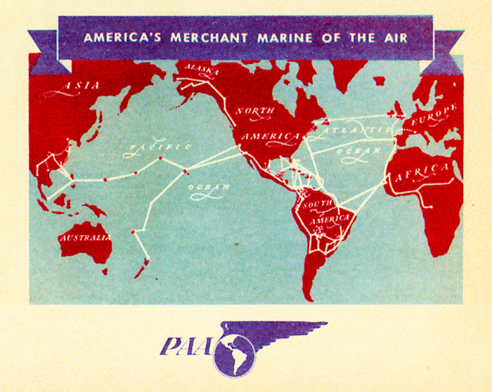 1 Map Pan Am Africa Ad