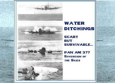 Water ditchings All Saved Pan Am Sovereign of the Skies blog