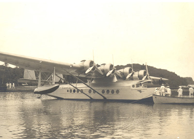 Guam Pan Am Survey Flight Oct. 13 1935