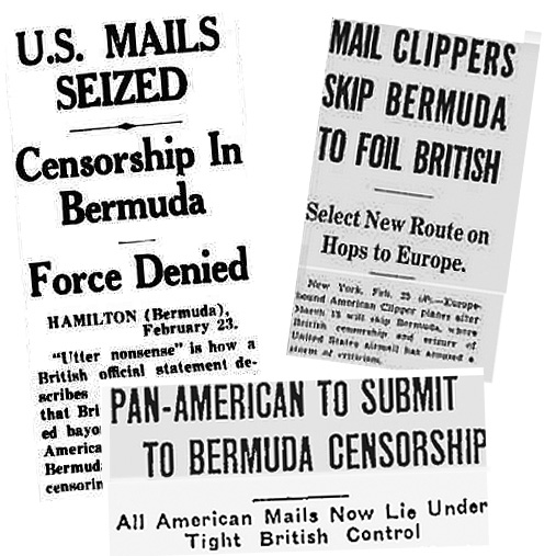 Pan Am Bermuda Censors