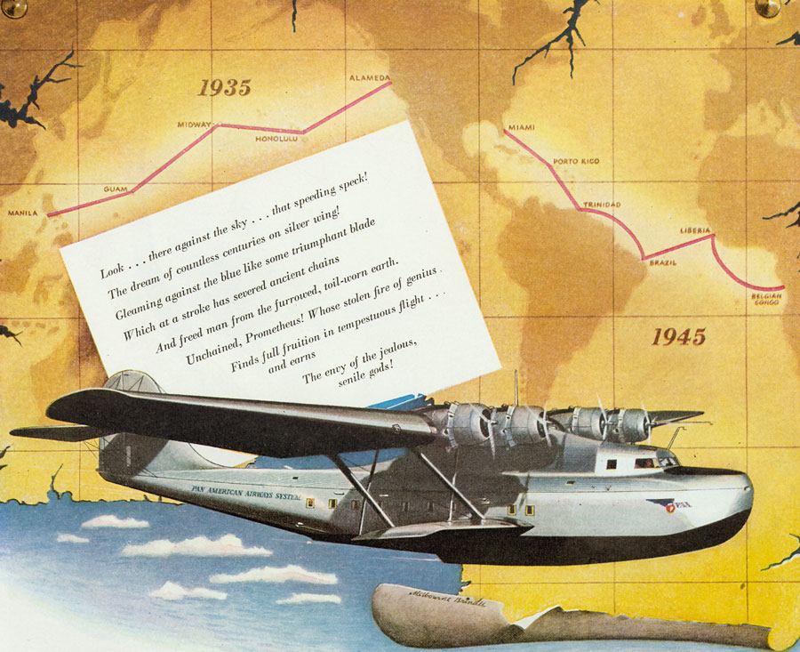 Excerpt from Martin Aircraft ad 1945
