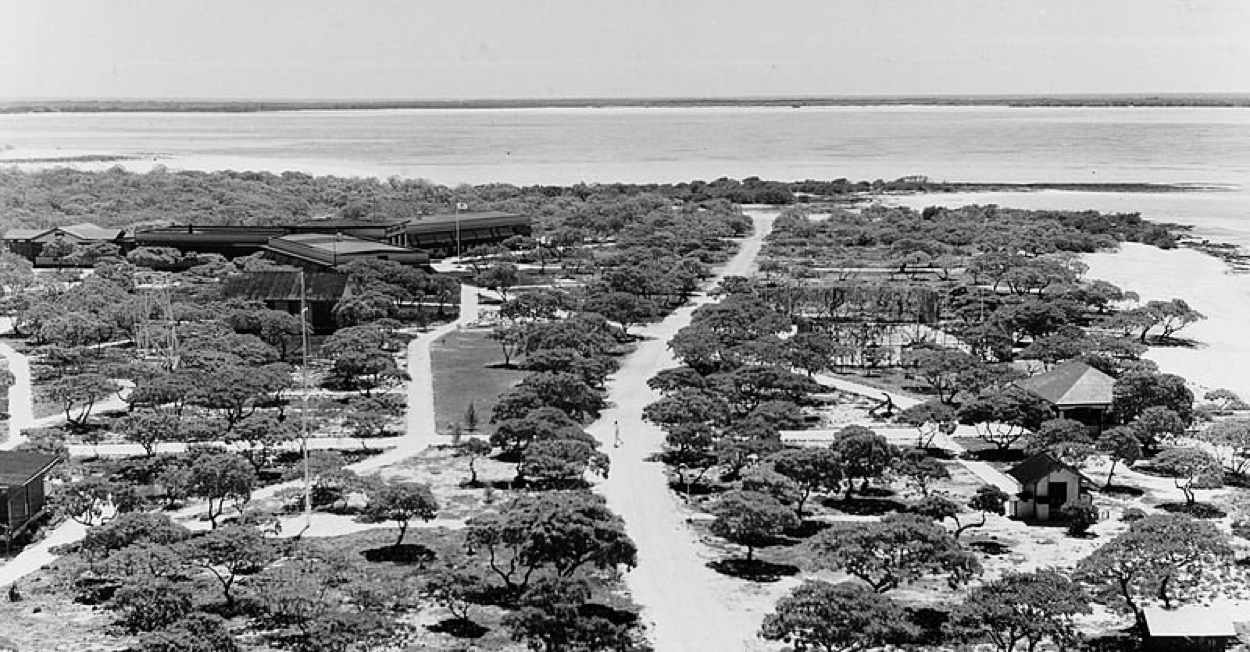 Pan Am Facilities on Wake Island (U.S. National Archives)