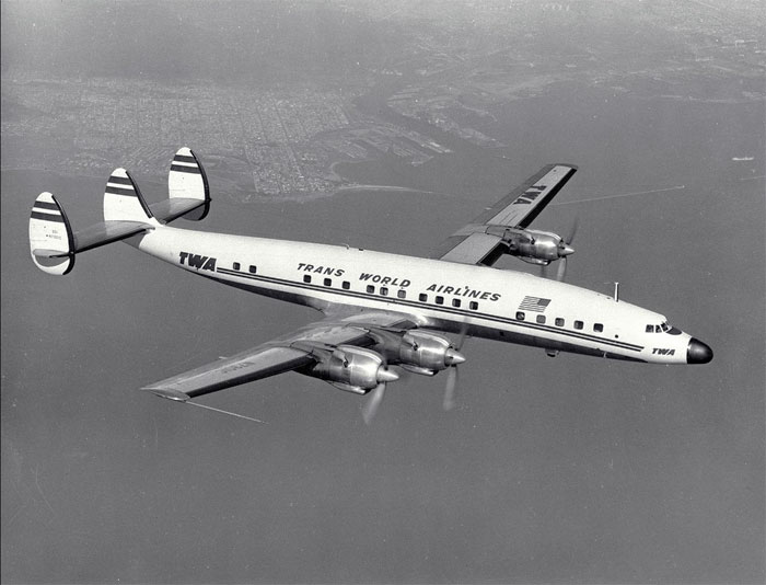 NACA TWA Connie