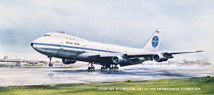 McCoy 747 painting SFO Museum credit