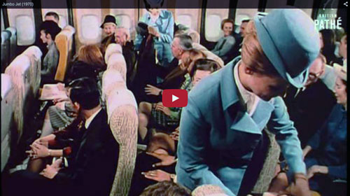 The Jumbo Jet 1970 British Pathe