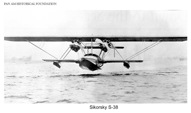 Pan Am Sikorsky S 38