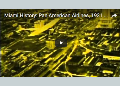 Miami History Pan Am 1931
