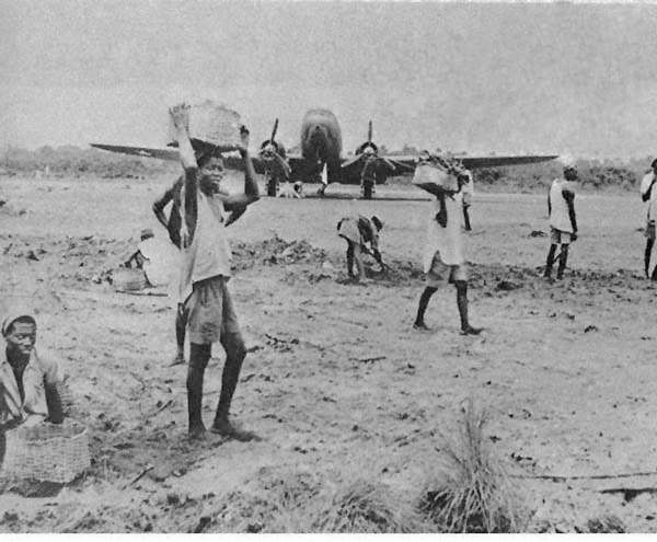 African air field WWII