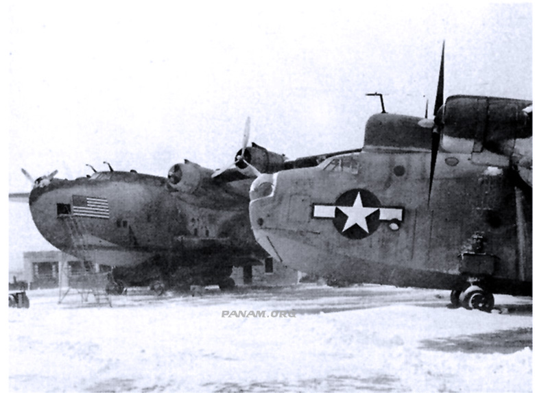 Boeing 314 and PB2Y Coronado during World War Two