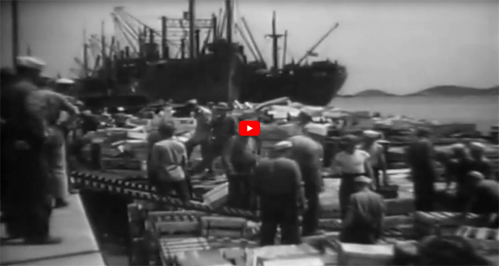 Scenes of New Caledonia 1942 Video