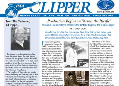 Clipper Newsletter Fall 2017 blog