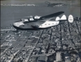 Pan Am Boeing 314 California Clipper Over San Francisco, 1939
